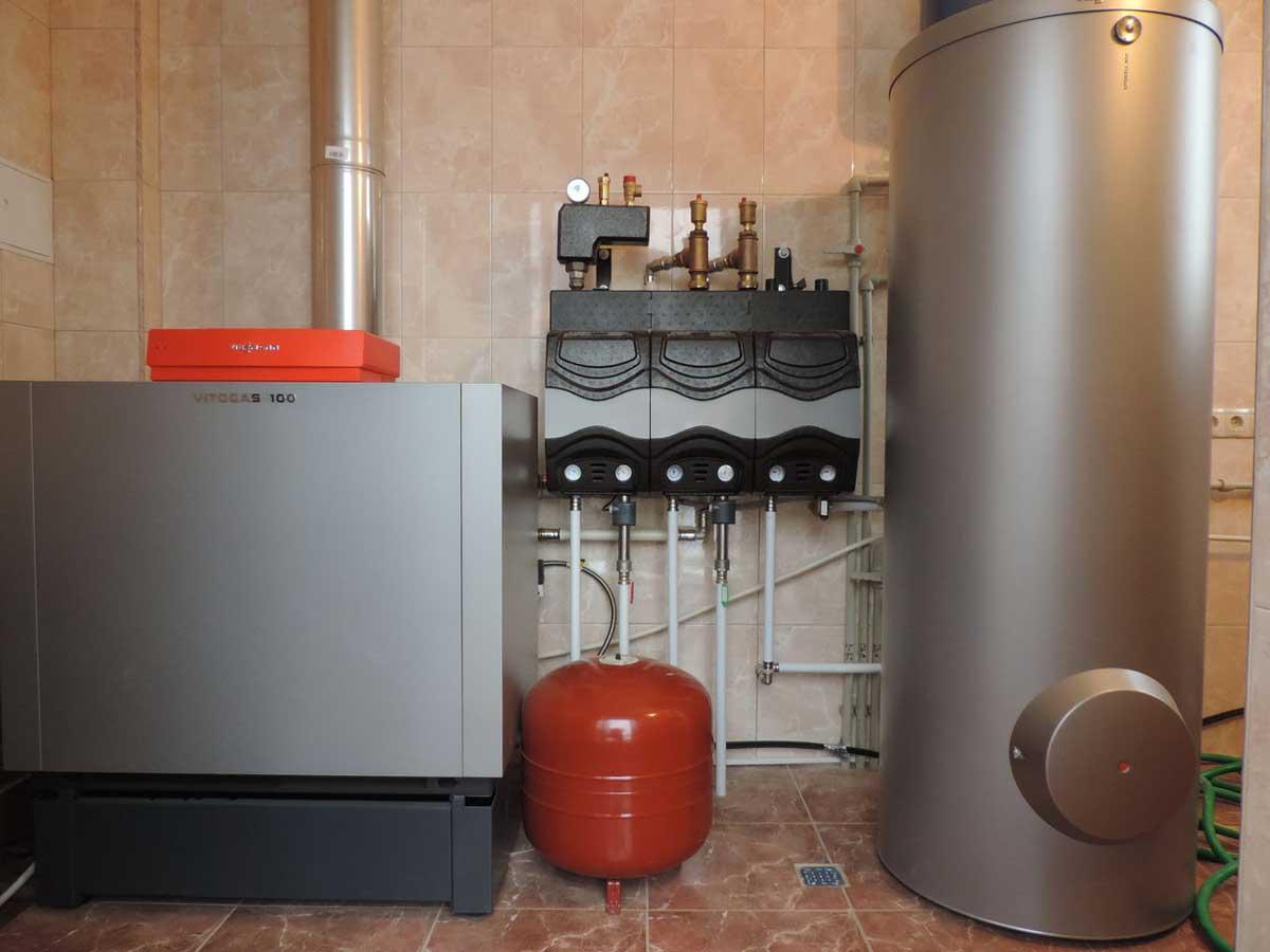 Котлы отопительные и водонагреватели
